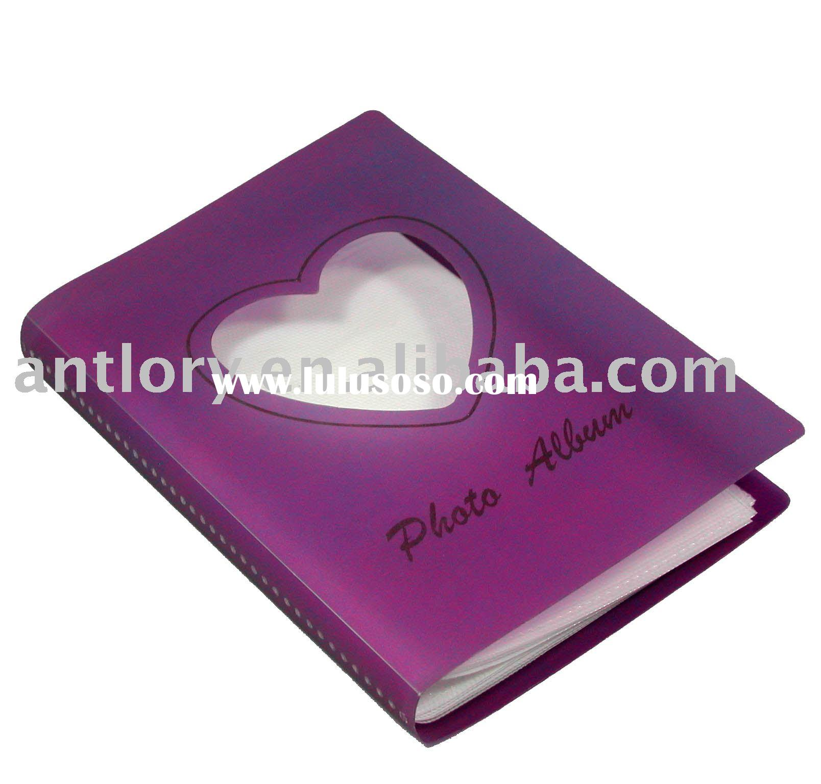 China professional PP photo album manufacturer