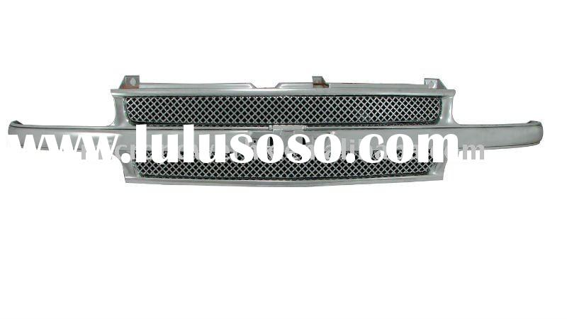 Chrome SS Wire Mesh(4.0mm) front grille for 99-02 Chevy Silverado/00-06 Tahoe & Suburban