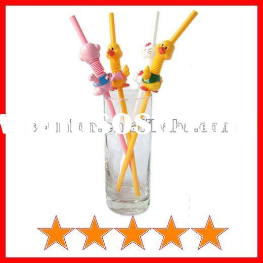 Crazy animal straw with cute shape