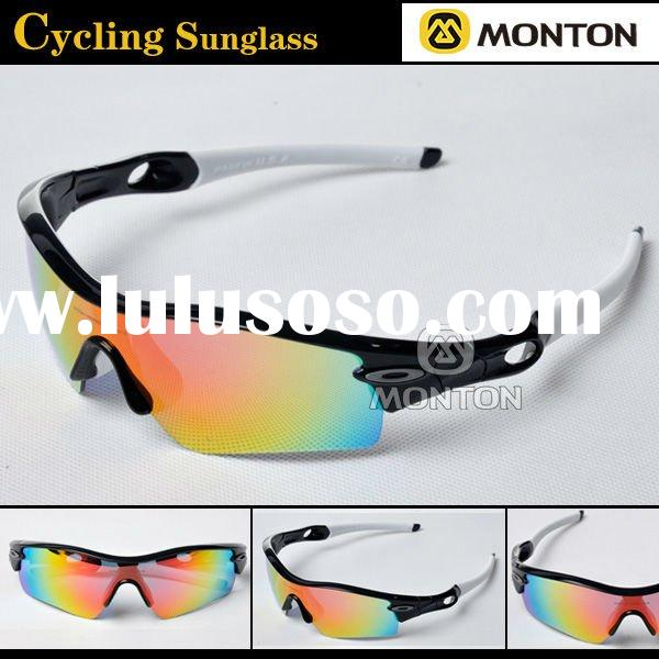 Cycling Sunglasses UV Protection White Frame