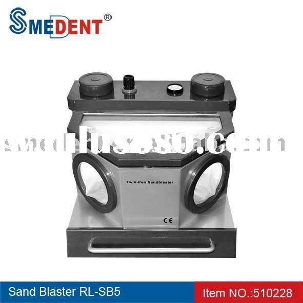 Dental Laboratory Equipments Twin-pen Sand Blaster