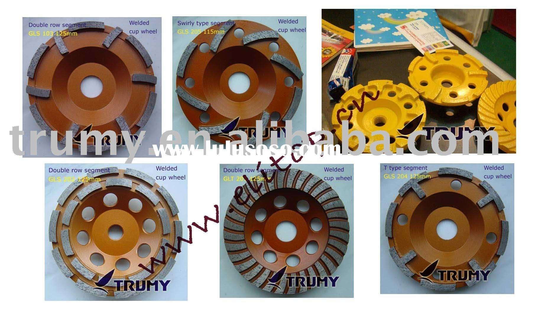 Diamond Cup Wheel for Granite, Concrete, Stone, etc.