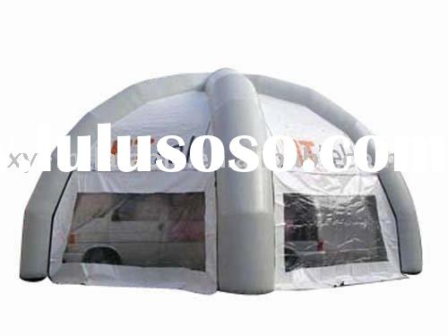 Dome shaped Inflatable event tents