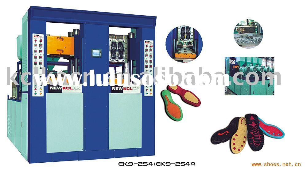 Double-color Injection machine for TR/TPR /TPU OR PVC (2 stations)