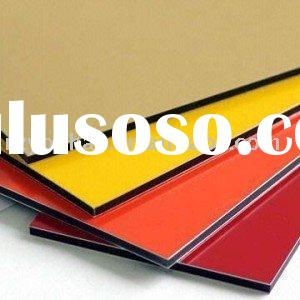 Durable colorful pvdf aluminum composite panel