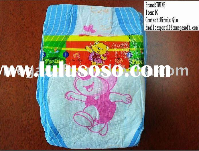 Economical grade!!! TWINS brand TC baby diapers