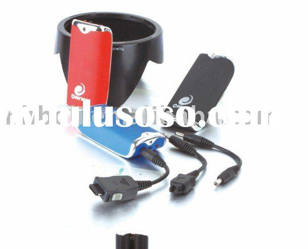 Emergency charger cell phone charger aa battery charger charger less than 1USD