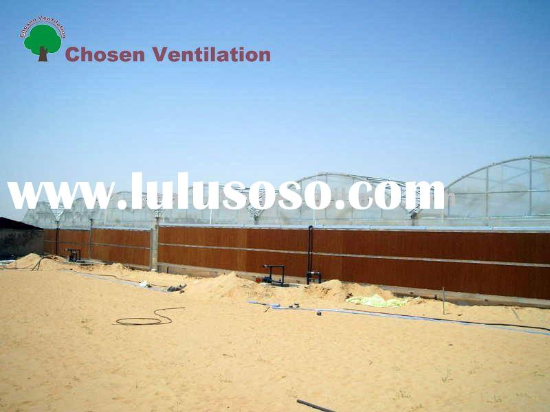 Evaporative Cooling System,Wet pad for Greehouse
