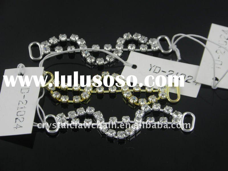 Exquisite fashion decoration rhinestone buckle of the work for shoe/garment