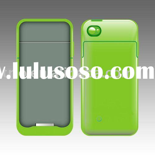 Extended battery charger case pack for Apple iPhone 4