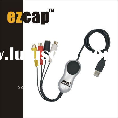 EzCAP170 Video Adapter With Audio,professional edit software,USB Video capture-EzCAP170