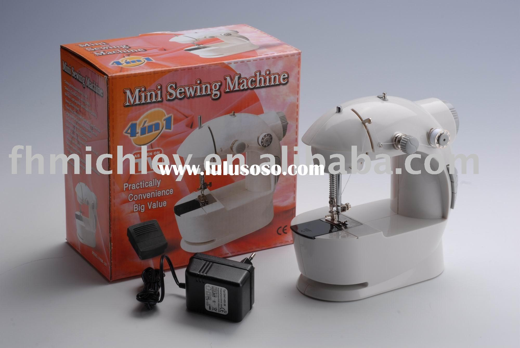 FHSM-201as seen on tv! 4 in 1 mini electrical sewing machine
