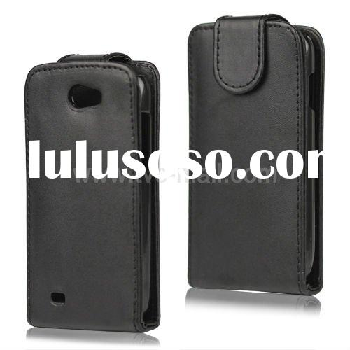 For Samsung Galaxy W I8150 Magnetic Flip Leather Case
