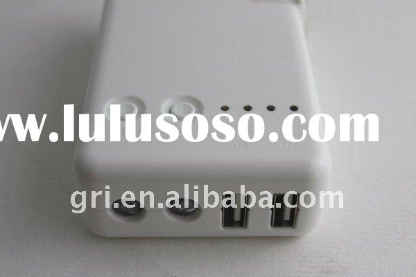 For iPhone iPad Battery Chargers with LED indication USB port charging cell mobile 5600mAH High Powe