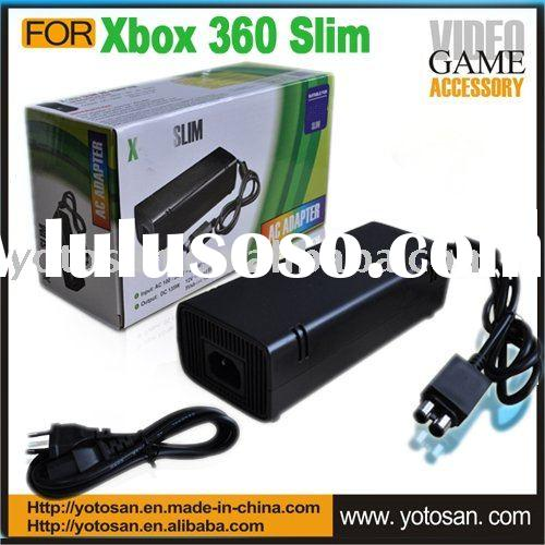 For xbox 360 slim power supply AC adapter adaptor cord
