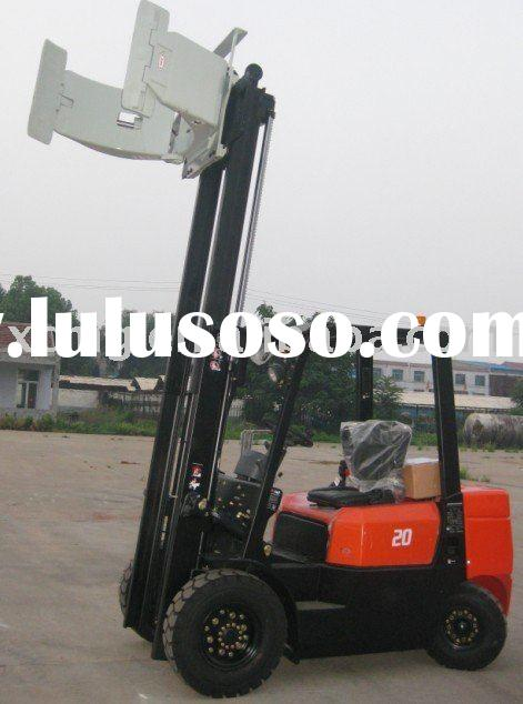 Forklift Truck With Paper Roll Clamp For Sale Price