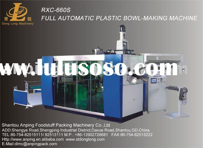 Full Automatic Plastic Plates and cups making machine