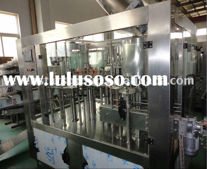Full-auto mineral water filling machine in pet bottle packing