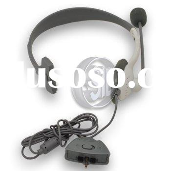 Game accessory NEW LIVE HEADSET HEADPHONE WITH MICROPHONE FOR XBOX 360