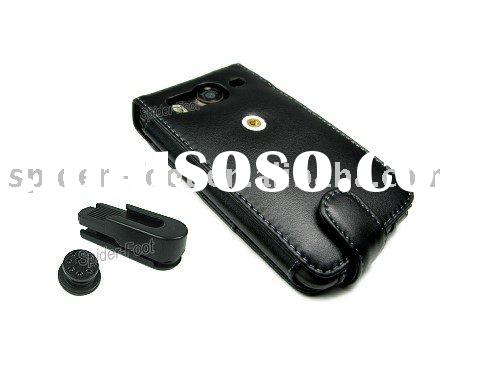 Genuine Leather Case with Belt Clip for HTC Desire HD