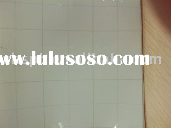 Grid pattern pvc coated VCM metal sheet