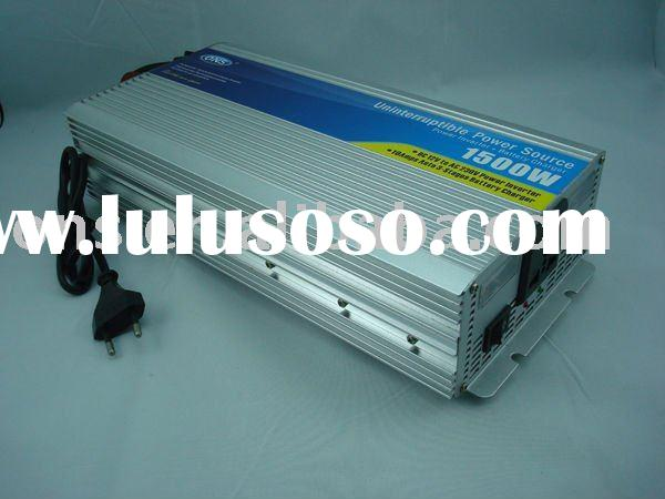HOT!!!home solar energy power inverter with full automatic charger DC-AC 1500W