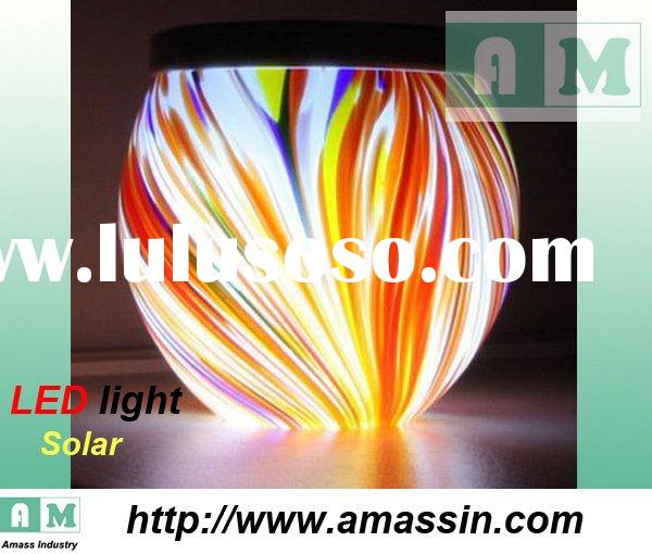 Handmade crafts gifts for Christmas,solar led lights