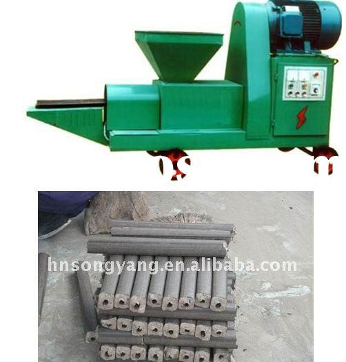 High Efficiency sawdust log making machine (ZBJ9-2)