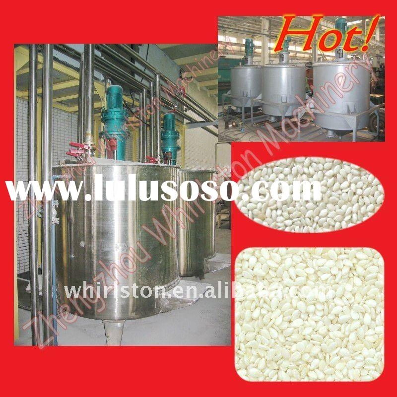 High quality Hot Automatic Stainless Steel sesame hulling machine Sesame processing machine 0086 135