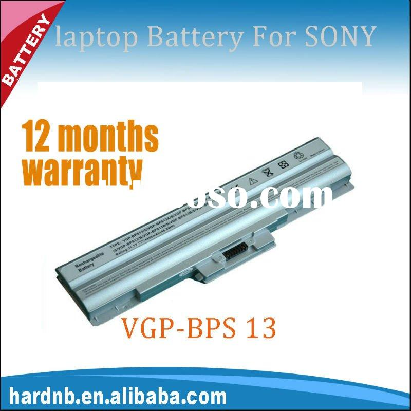 High quality for Sony VGP-BPS13 laptop battery