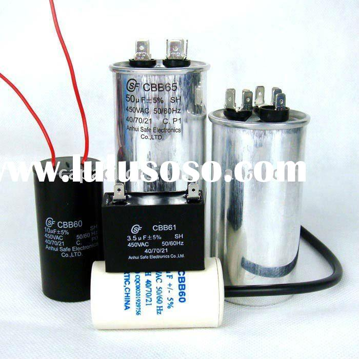High quality motor starter capacitor