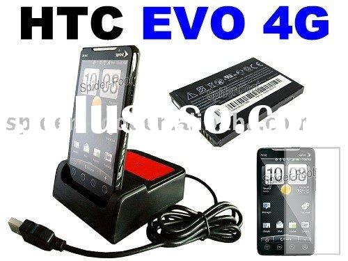 HotSync Dual charger+battery for Sprint HTC EVO 4G A9292