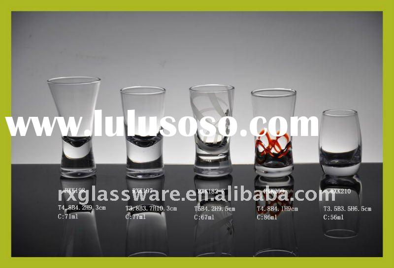 Hot Thick Bottom Crystal Clear 30ML Shooter Glass