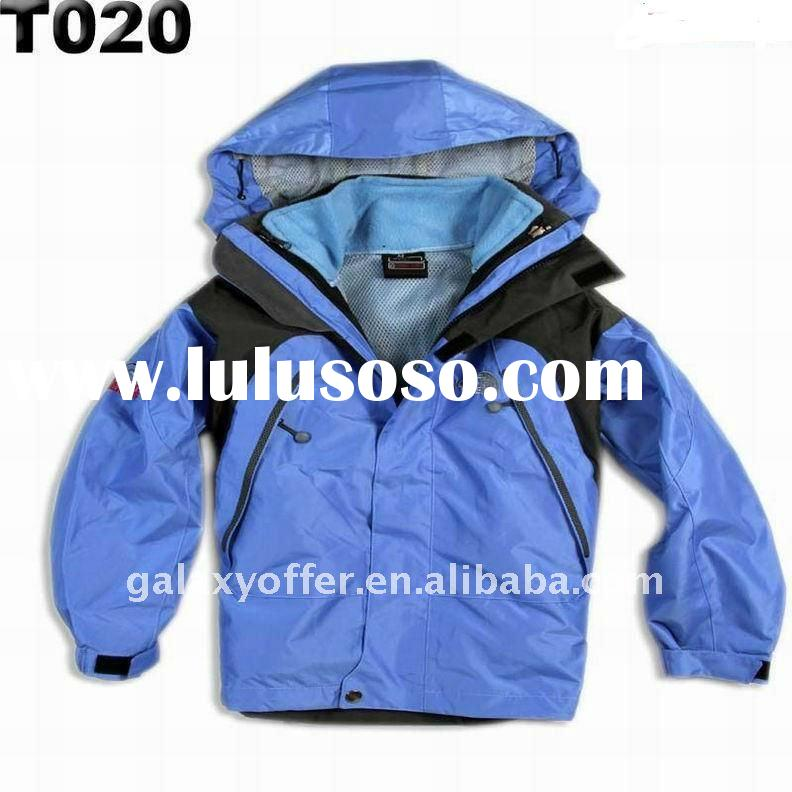 Hot name branded kid Fleece Jacket to North euro little girl boy's children child mountain O