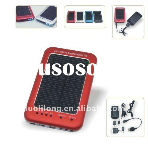 Hot solar cell phone battery charger