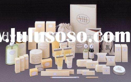 Hotel amenities set for 5 star high-grade hotel, sell disposable hotel amenities