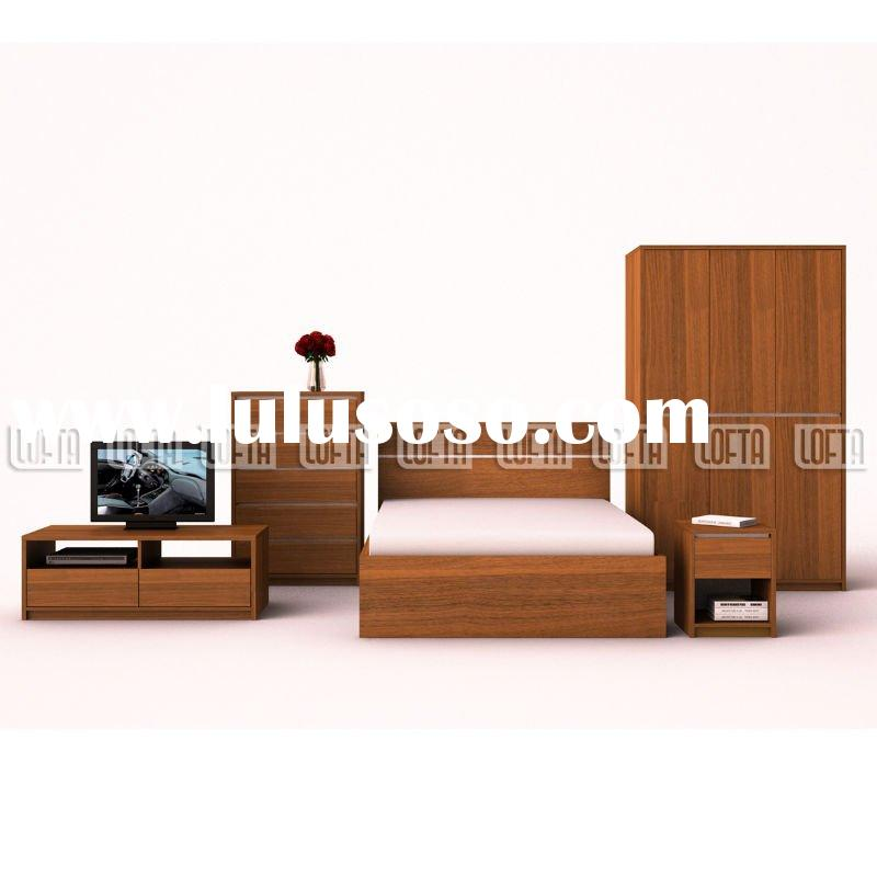 Ikea Designs Contry Style Bedroom Furniture Set With Wardrobe Dresser