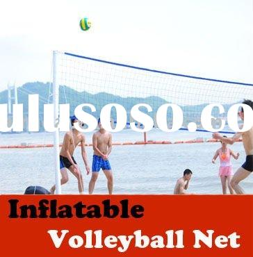 INFLATABLE & PORTABLE volleyball stands