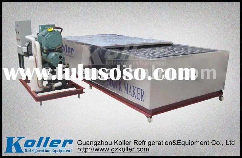 Ice Block Maker with Air Cooling System by SUS 304