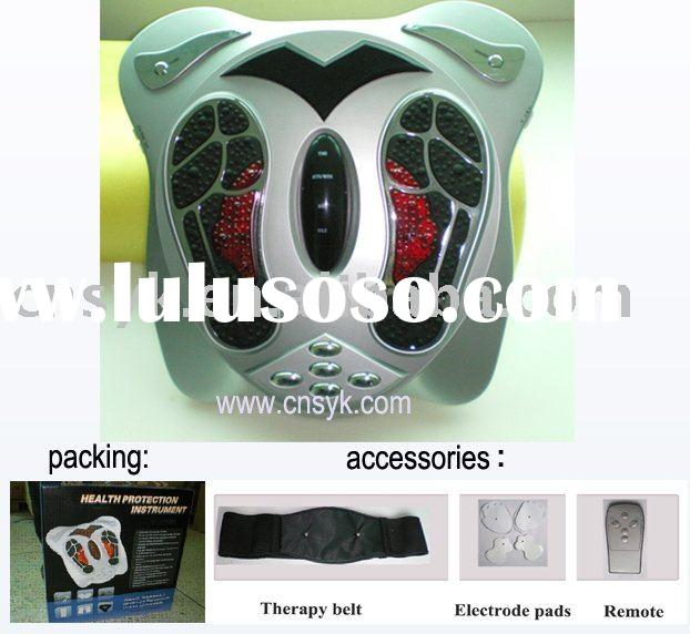 Infrared therapy foot massager