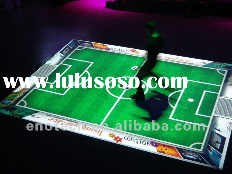 Interactive Floor, Interactive Projection System For Entertainment, advertising, wedding, display, e