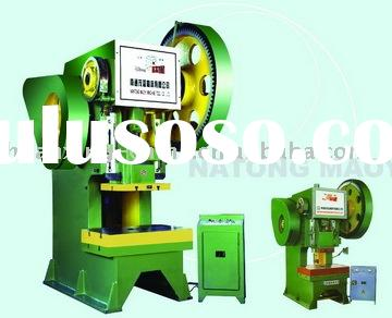 J21 series open power press with fixed bed(Body is steel-plate)