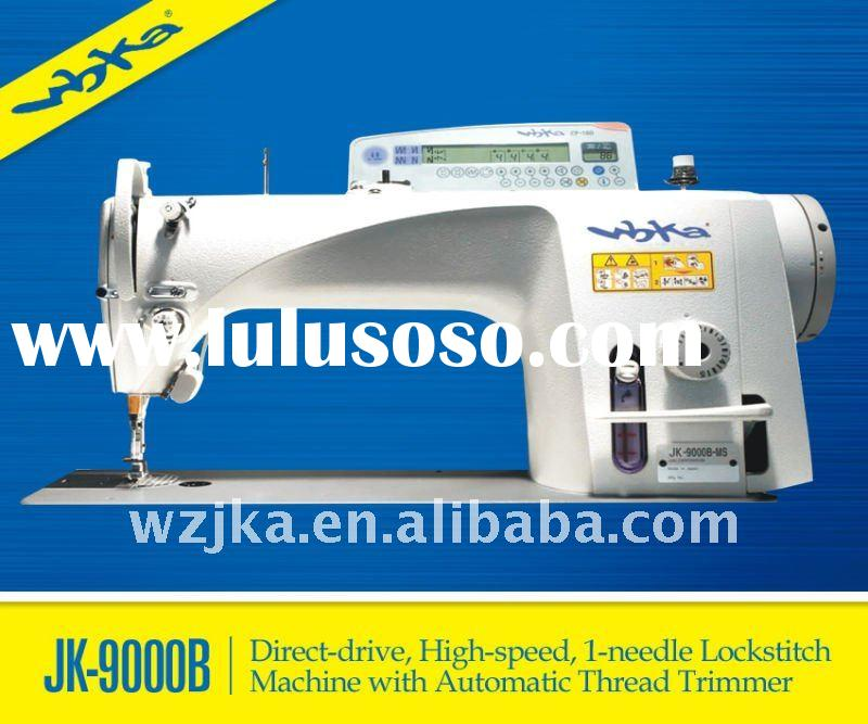 JK-9000B-SS Direct-drive High-speed 1-needle Lockstitch Sewing Machine with Automatic Thread Trimmer