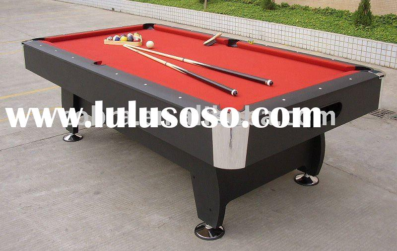 KBL-08A5 RED olhausen billiard table in sports equipments