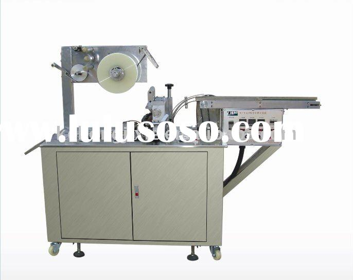 KH-120 automatic mechanical transparent pallet PVC BOPP stretch film wrapping machine (plastic film