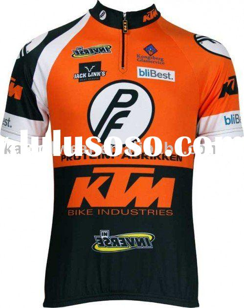 KTM Team Cycling wear Bike shirts+ Bicycle shorts