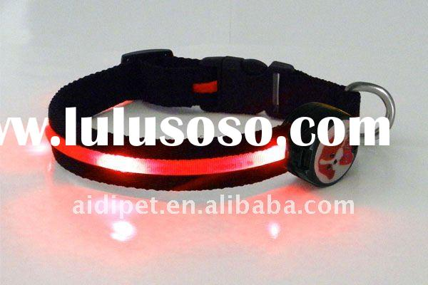 LED dog collar pet products