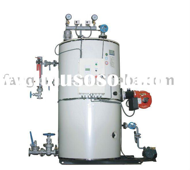 LHS series vertical Diesel steam boiler/oil fired steam boiler