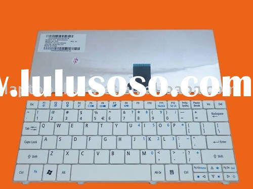 Laptop US White keyboard For ACER Aspire ONE 751 1410 1810T