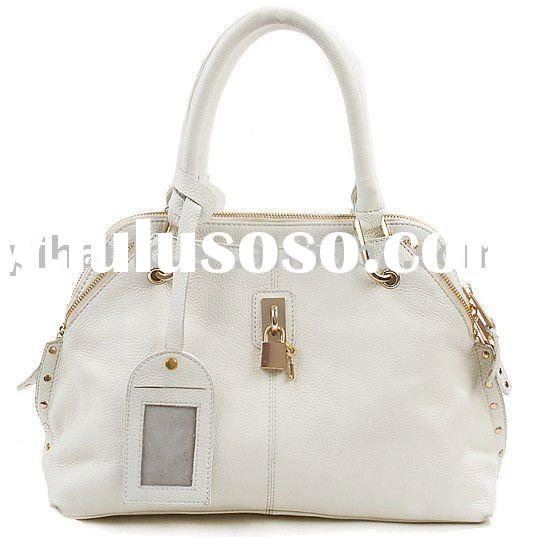 Latest brand designer ladies genuine leather bag
